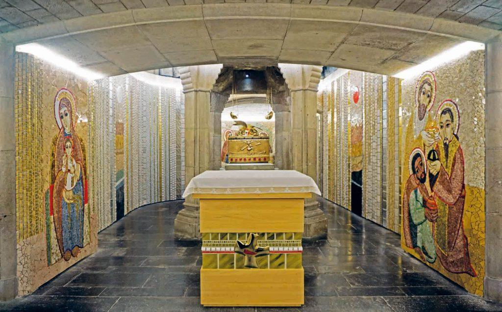 Santo Domingo de la Calzada - Catedral del Salvador. Cripta del Santo.