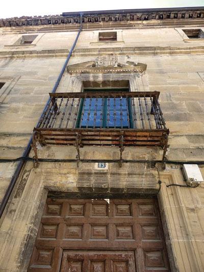 Santo Domingo de la Calzada - Casa del alcalde Martínez Pisón