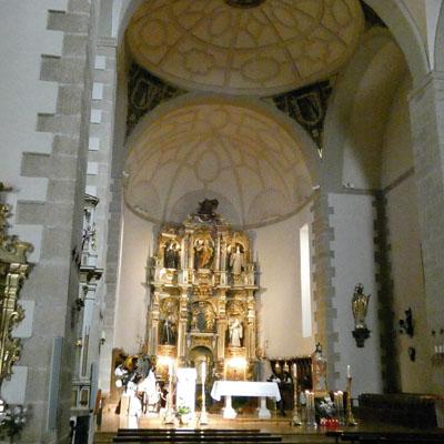 Santo Domingo de la Cazada - Iglesia de la Abadía Cisterciense