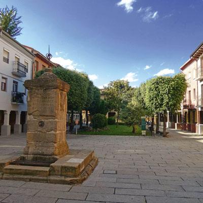 Santo Domingo de la Calzada - Plaza de la Alameda