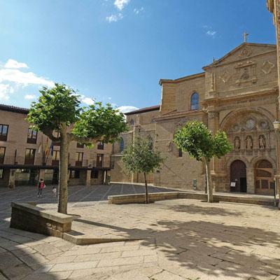 Santo Domingo de la Calzada - Plaza del Santo